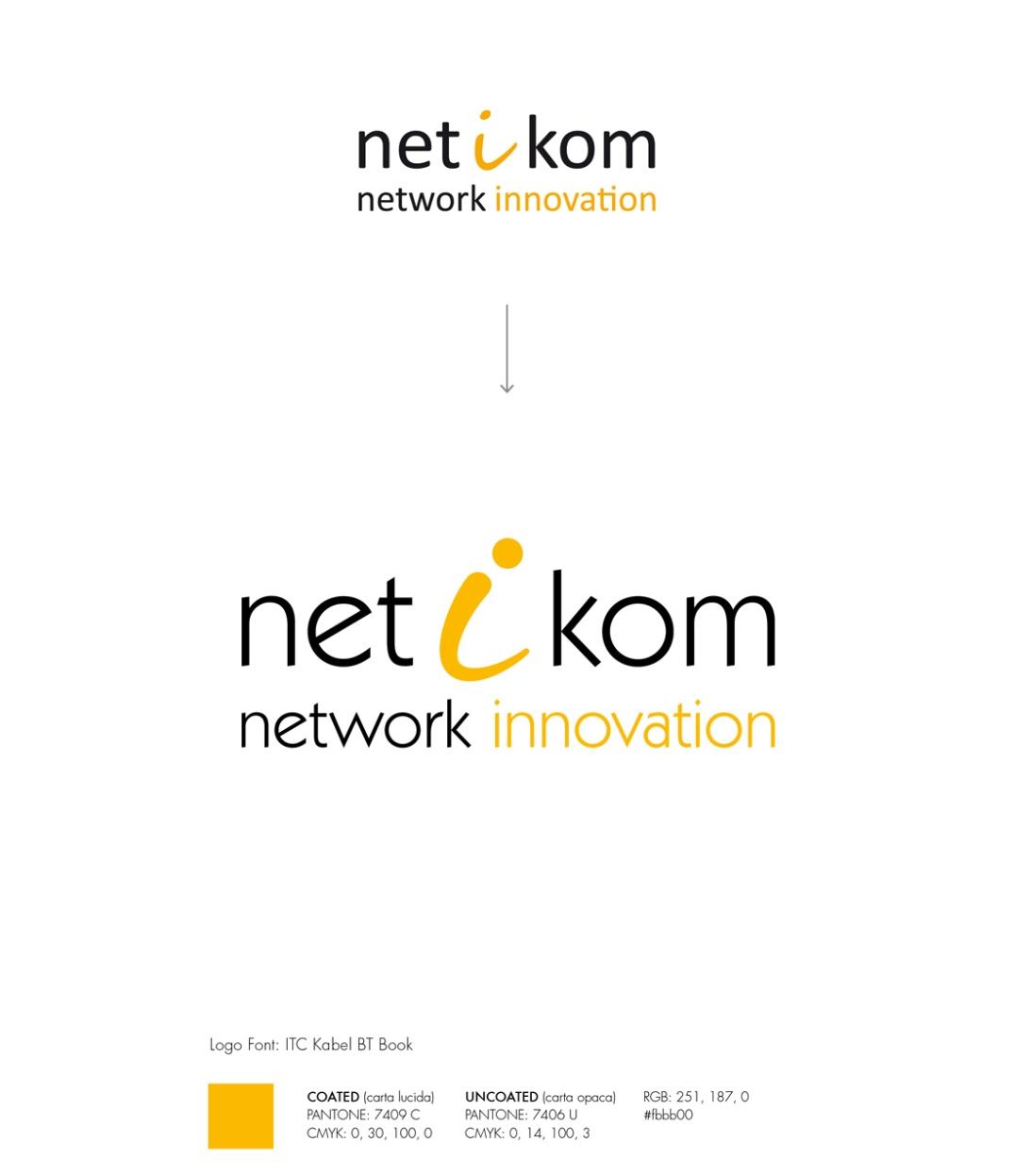 Logo NETIKOM Calibri